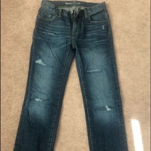 Boys sz.14 regular straight jeans Gap